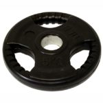 Tri Grip Rubber Coated Standard Weight Plate – 5kg