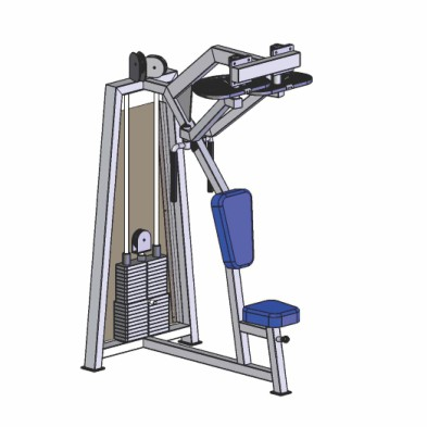 rear deltoid machine