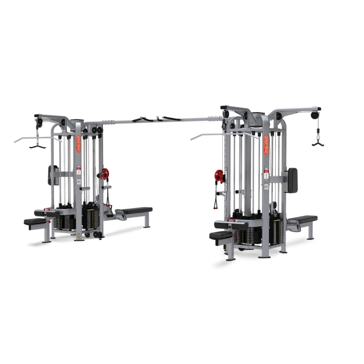 Multi Stations 9 Station Commercial Gym Equipment