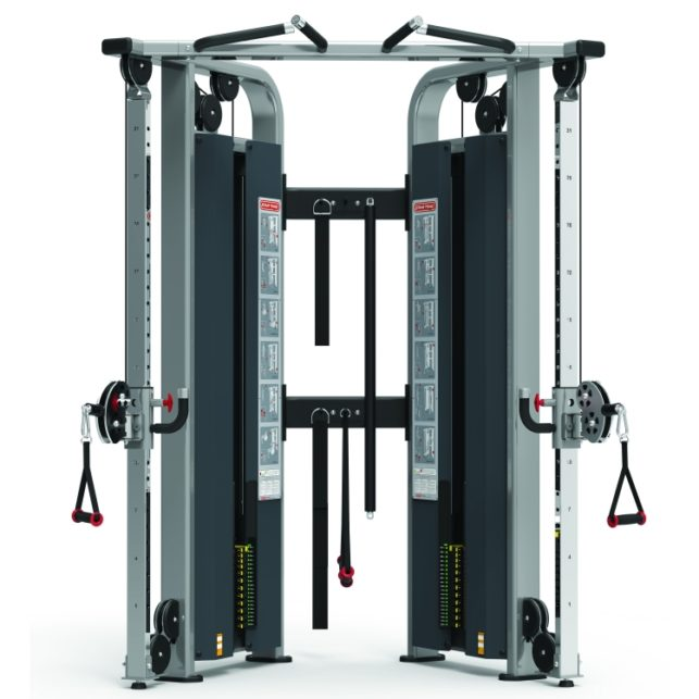 Dual Adjustable Pulley Star Trac Commercial Gym Equipment