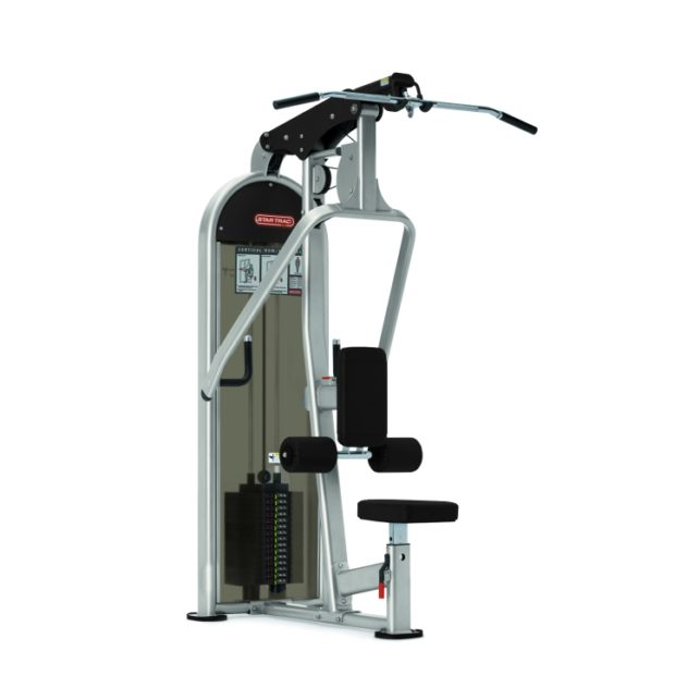 Dual Lat Pull Down Vertical Row Star Trac Commercial