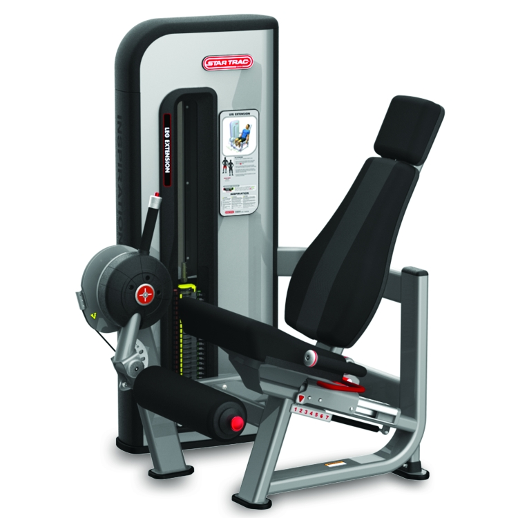 Inspiration Leg Extension Star Trac Commercial Gym Equipment