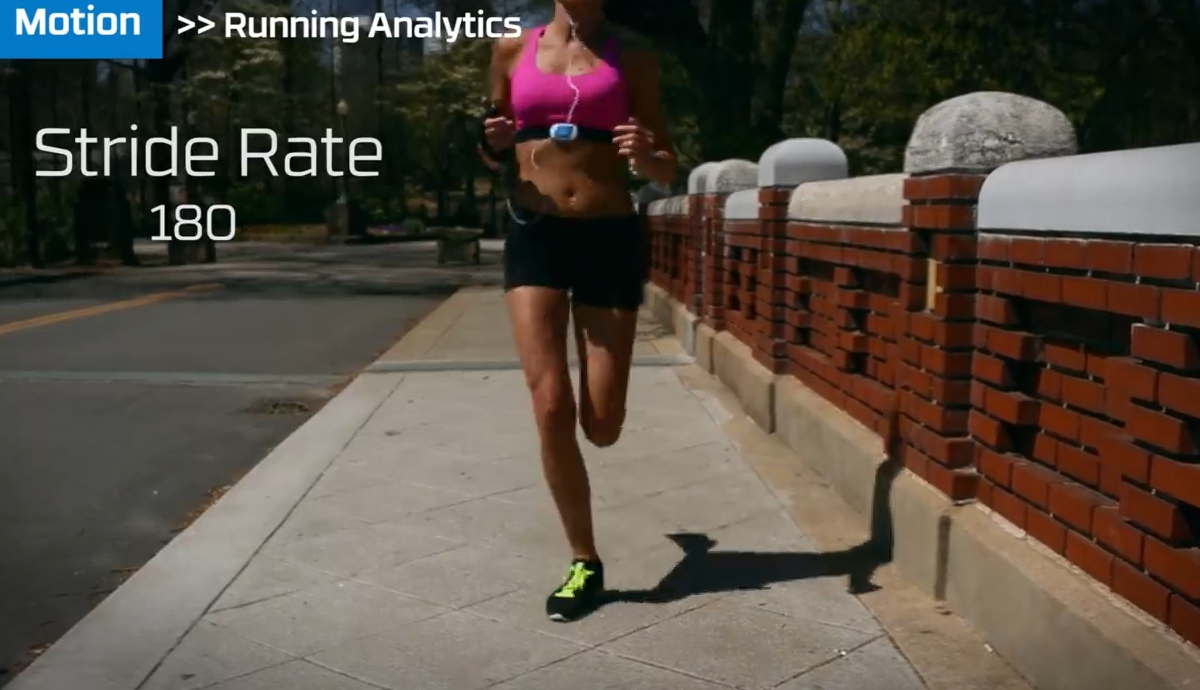 Road Running Stride Rate