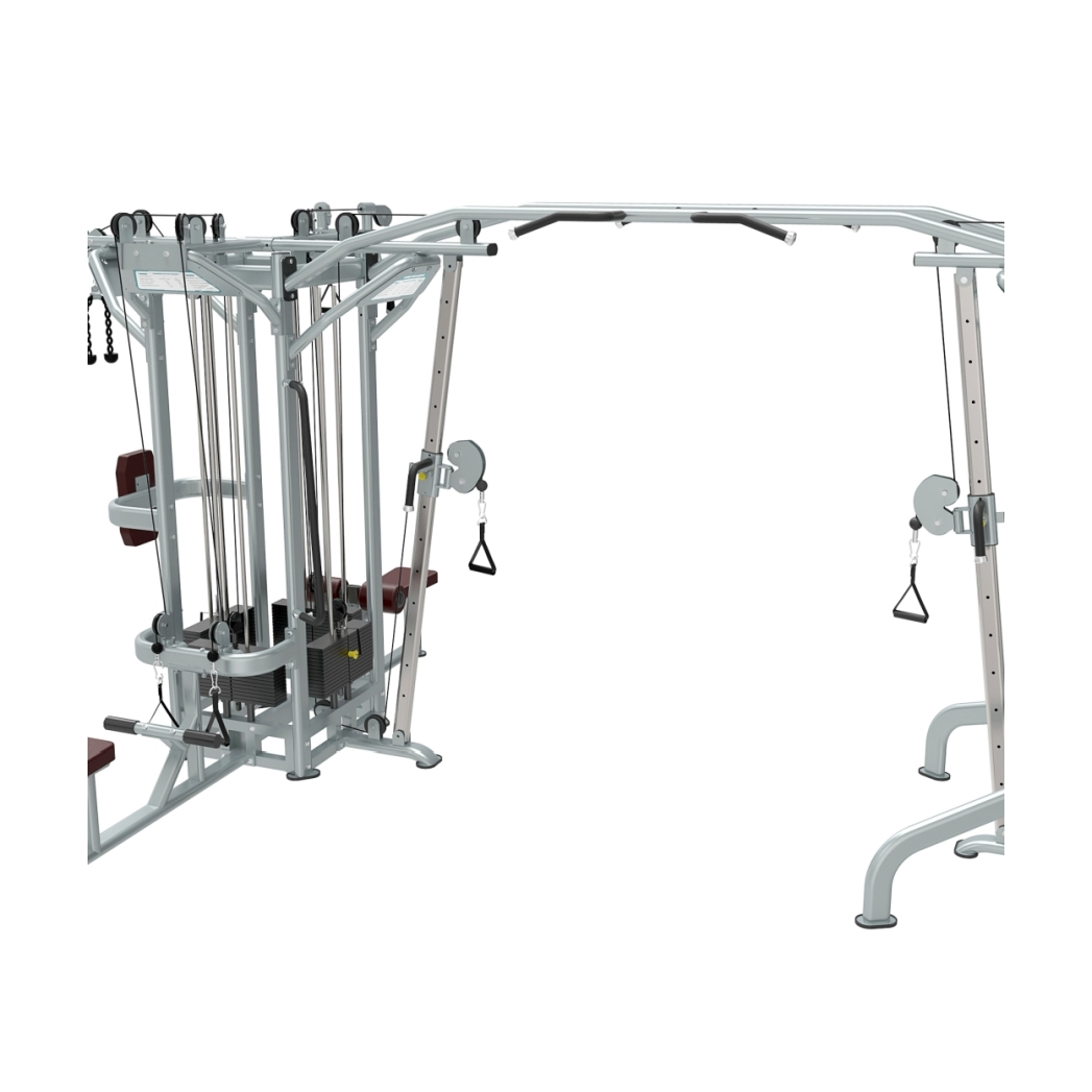 Stack multi station crossover gym equipment south